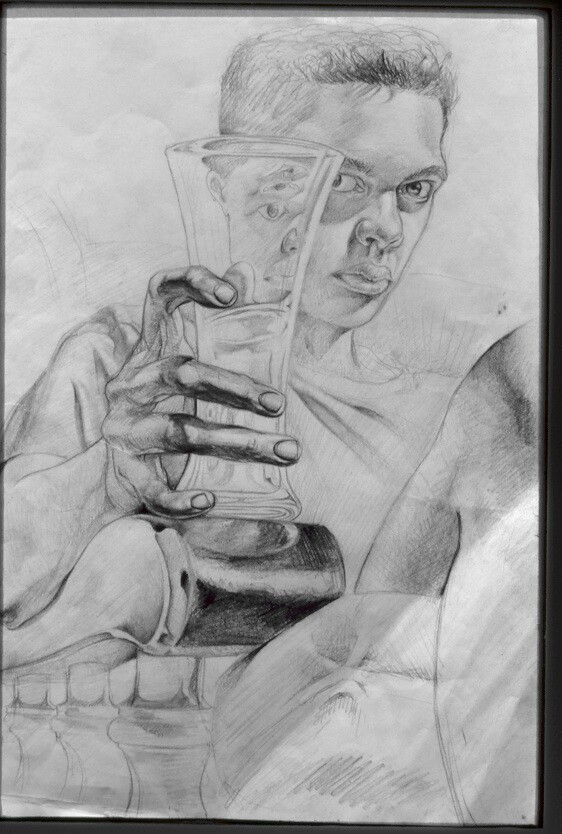 Pencil on Paper .1993