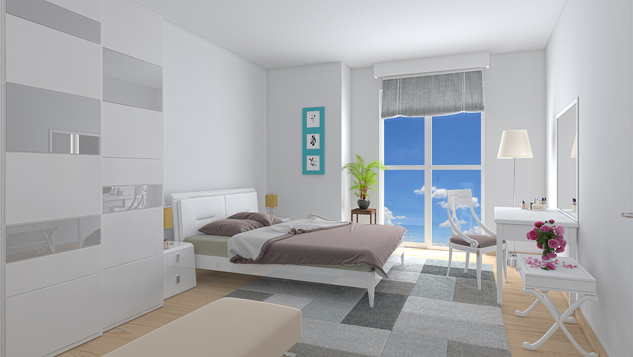 Generic bedroom from project