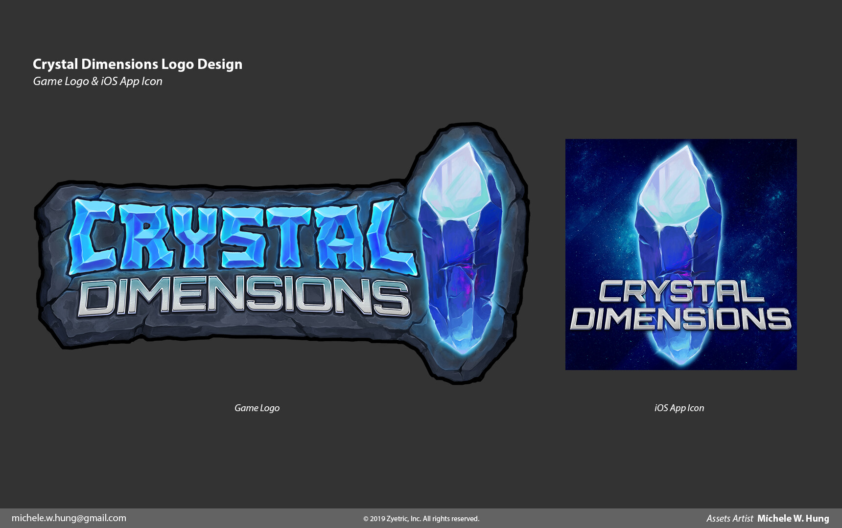 ArtStation - Crystal Dimensions Art Assets, Michele W  Hung