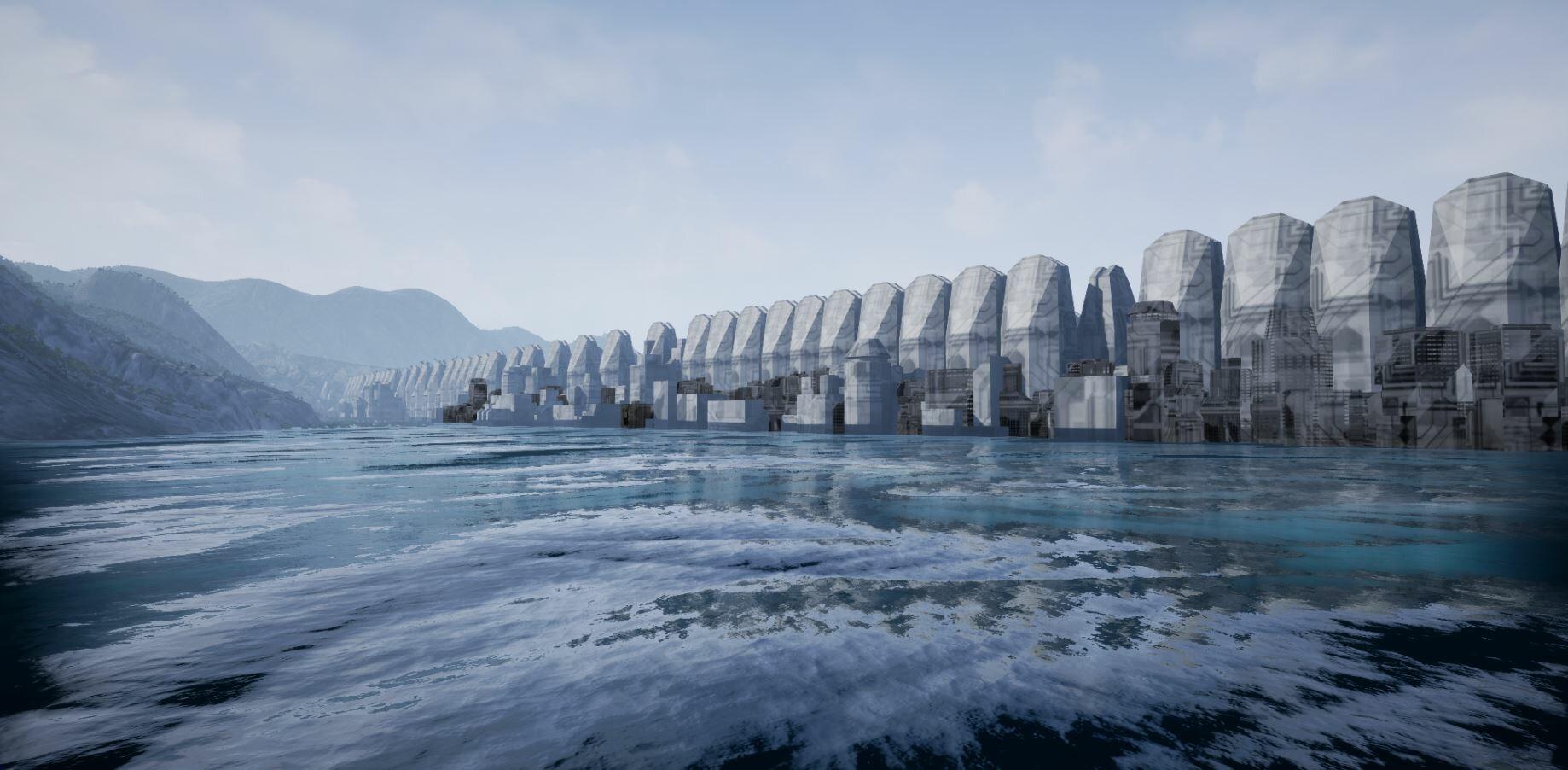 Recep Köksal - Sci-Fi City