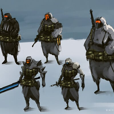 Benedick bana snow soldier final lores