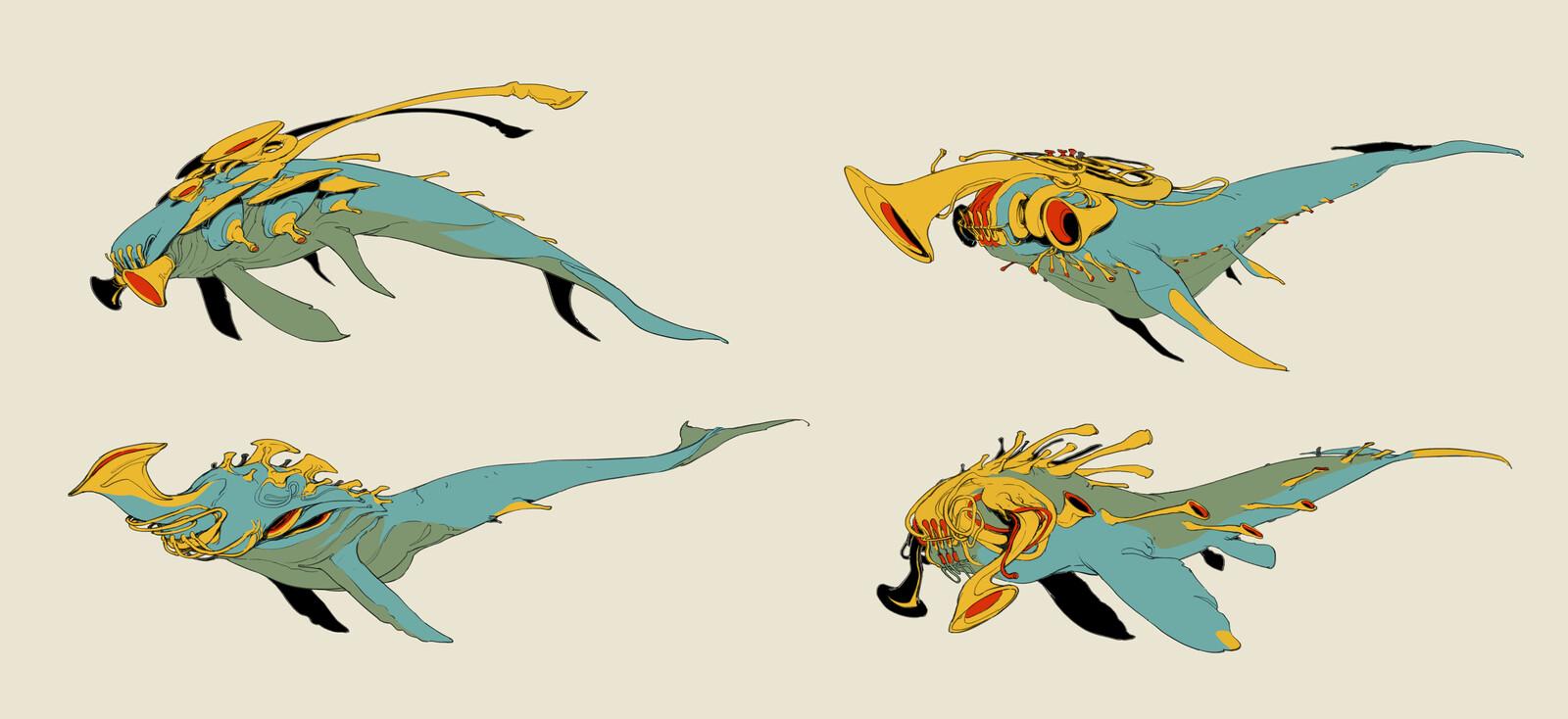 Trumpet Whales