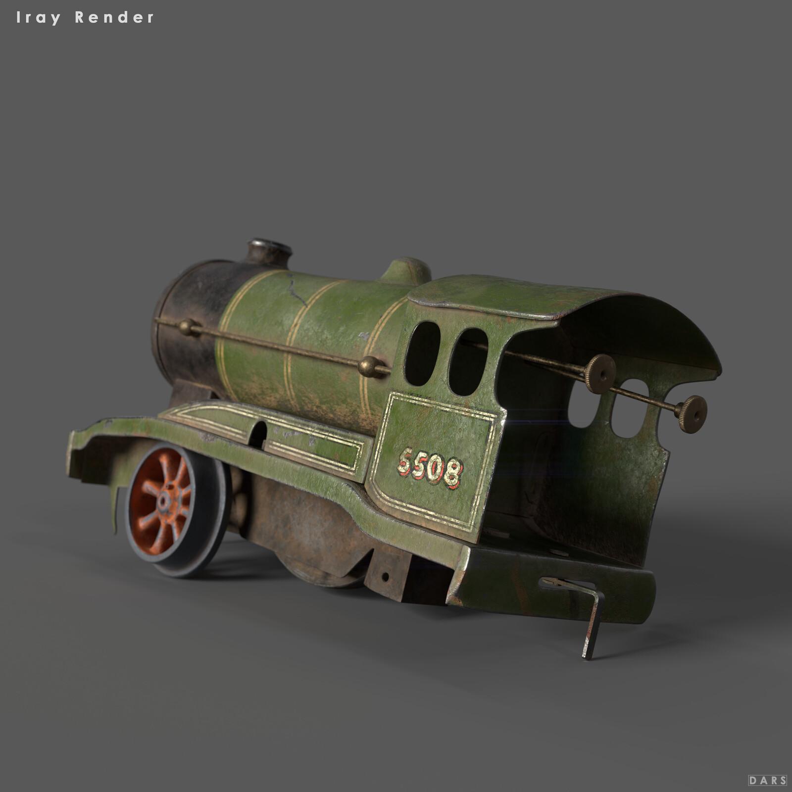 Vintage Model Train