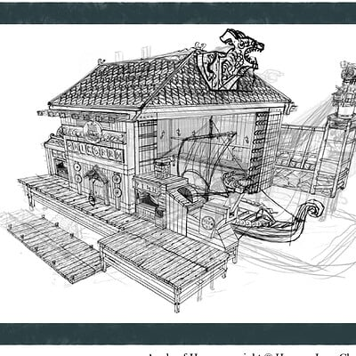 Apple of Hope - Production Design: Viking Shipyard