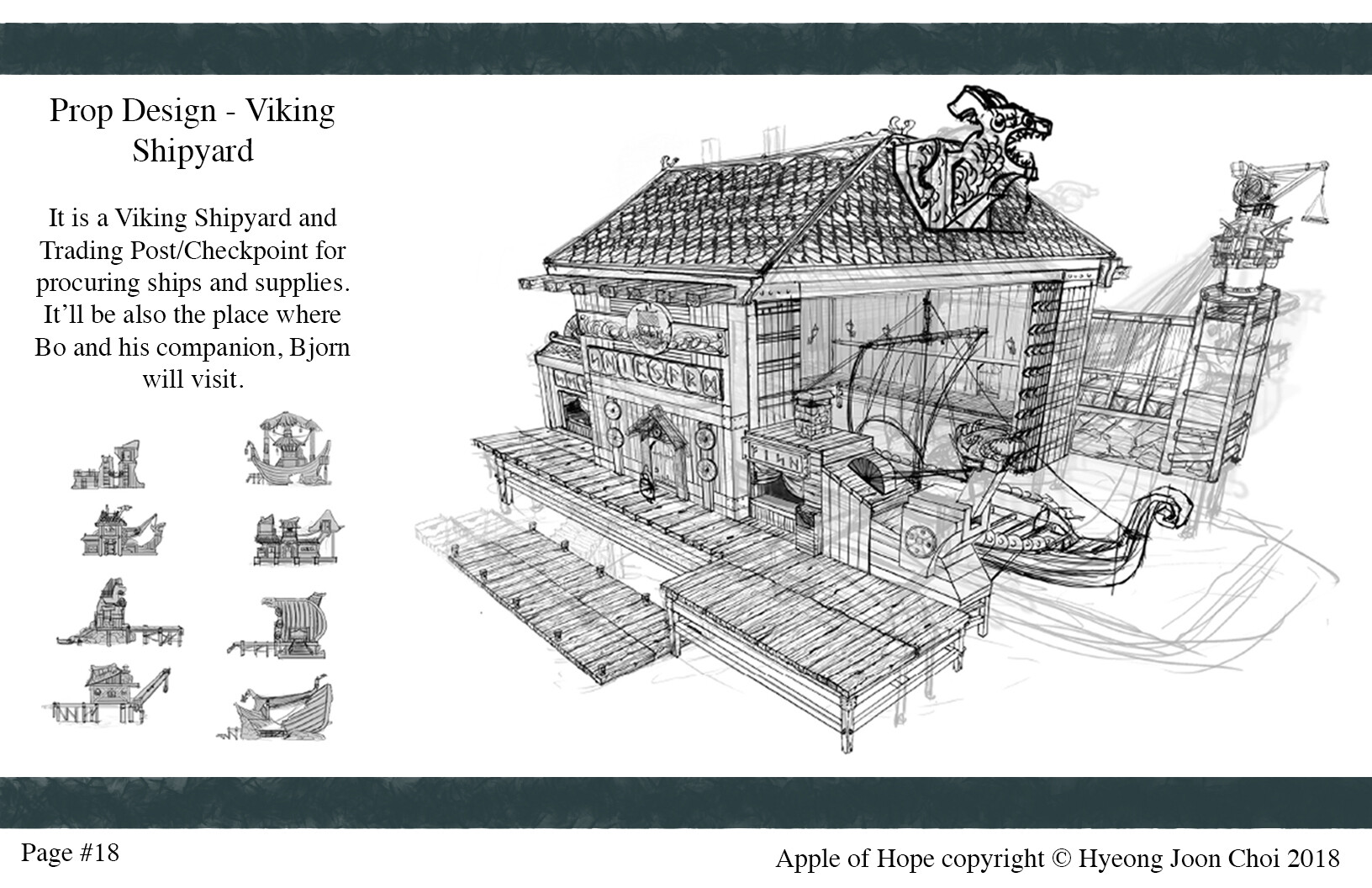 Production Design: Viking Shipyard