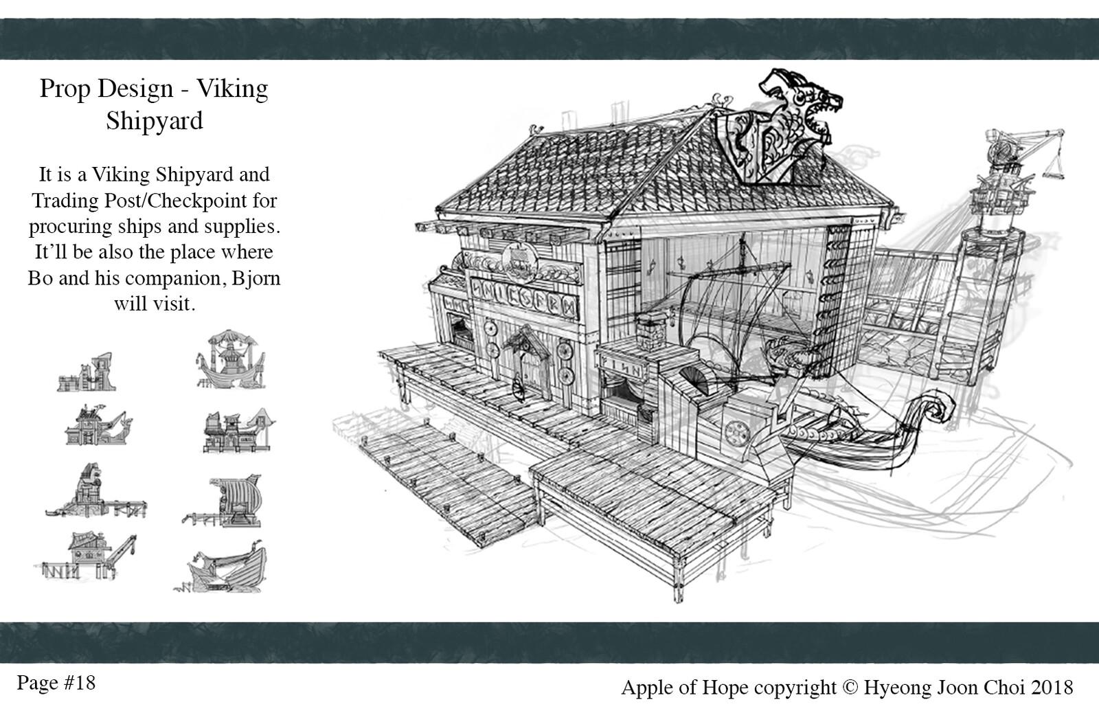 Production Design: Viking Shipyard