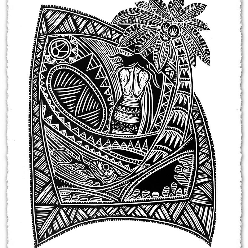 Linocut prints - 2003