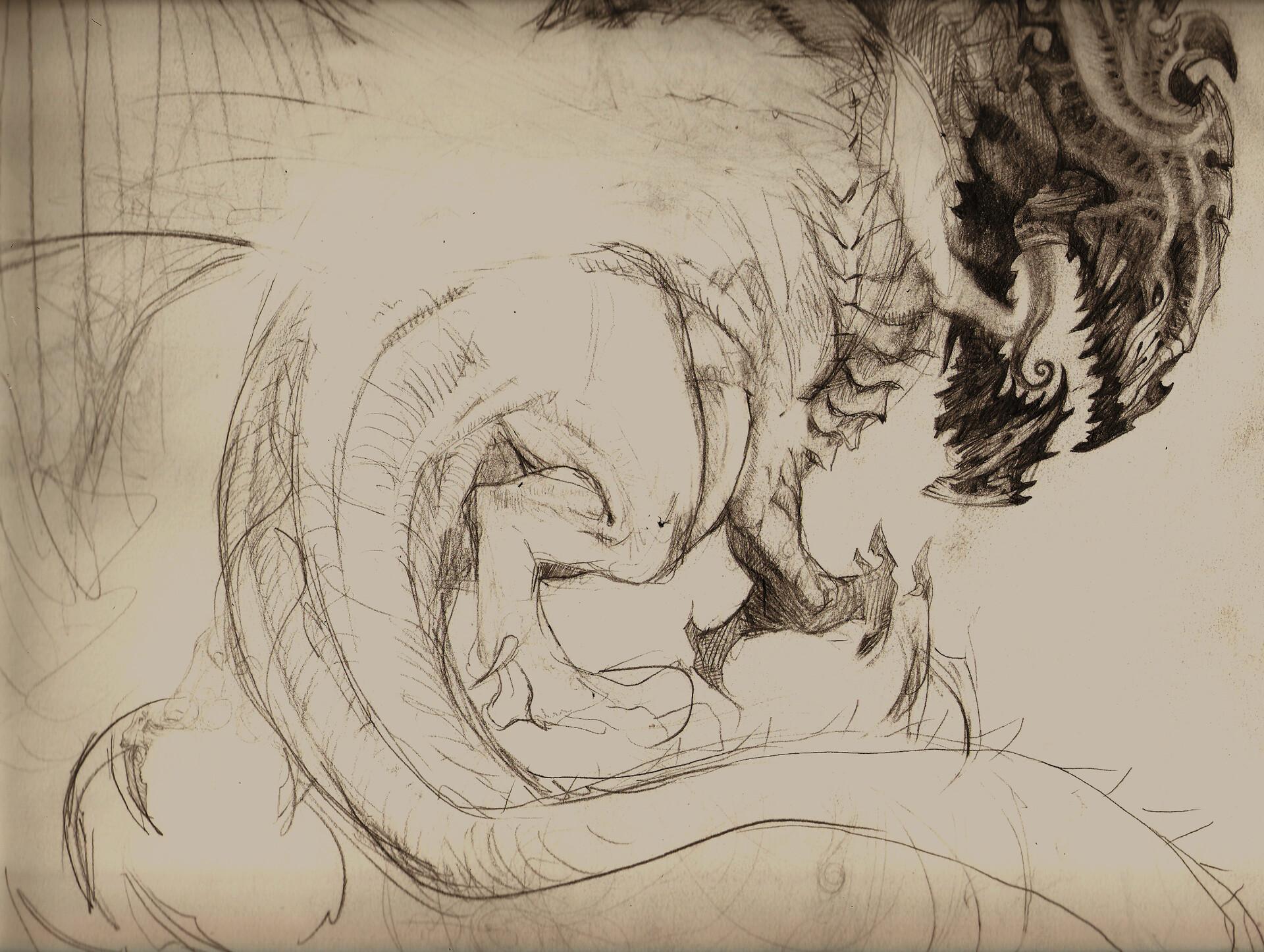 William furneaux sketch 01