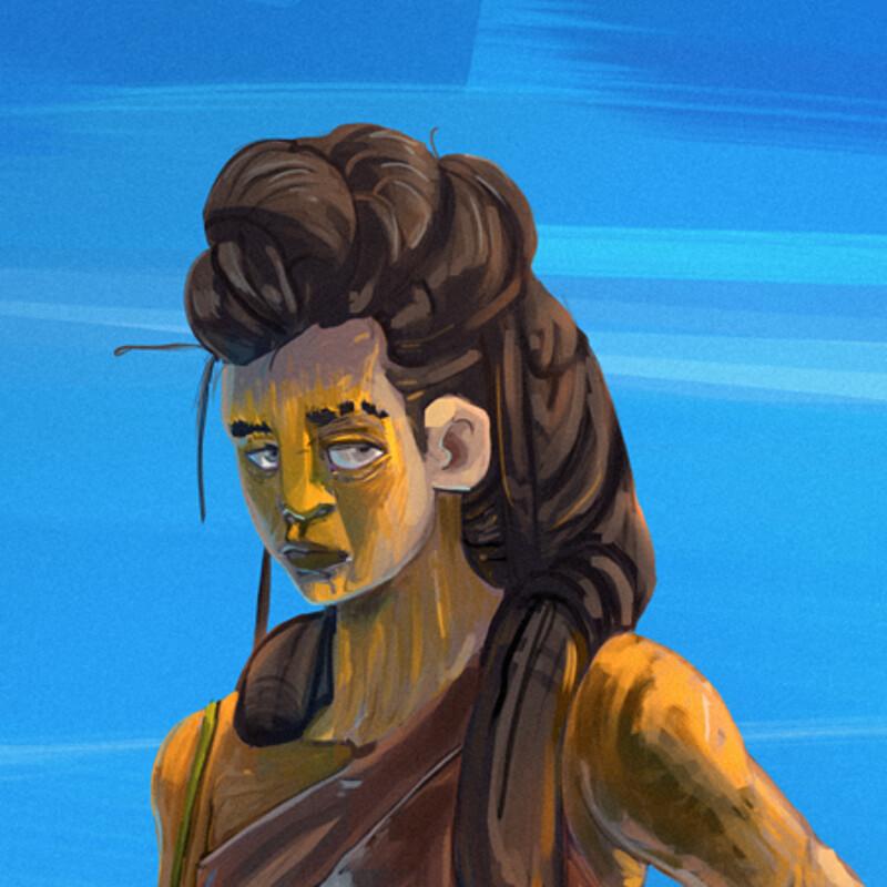sauk tribe - character design