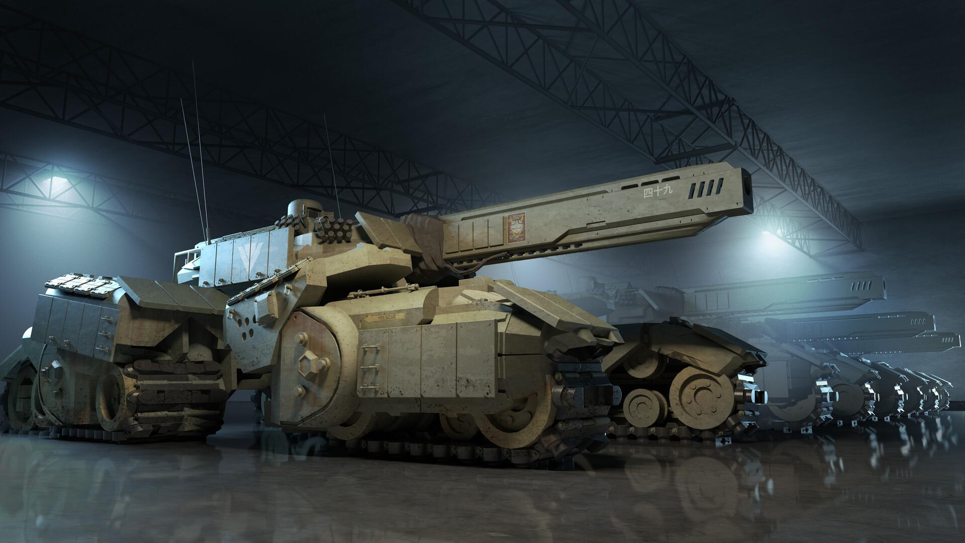 Tank Hangar