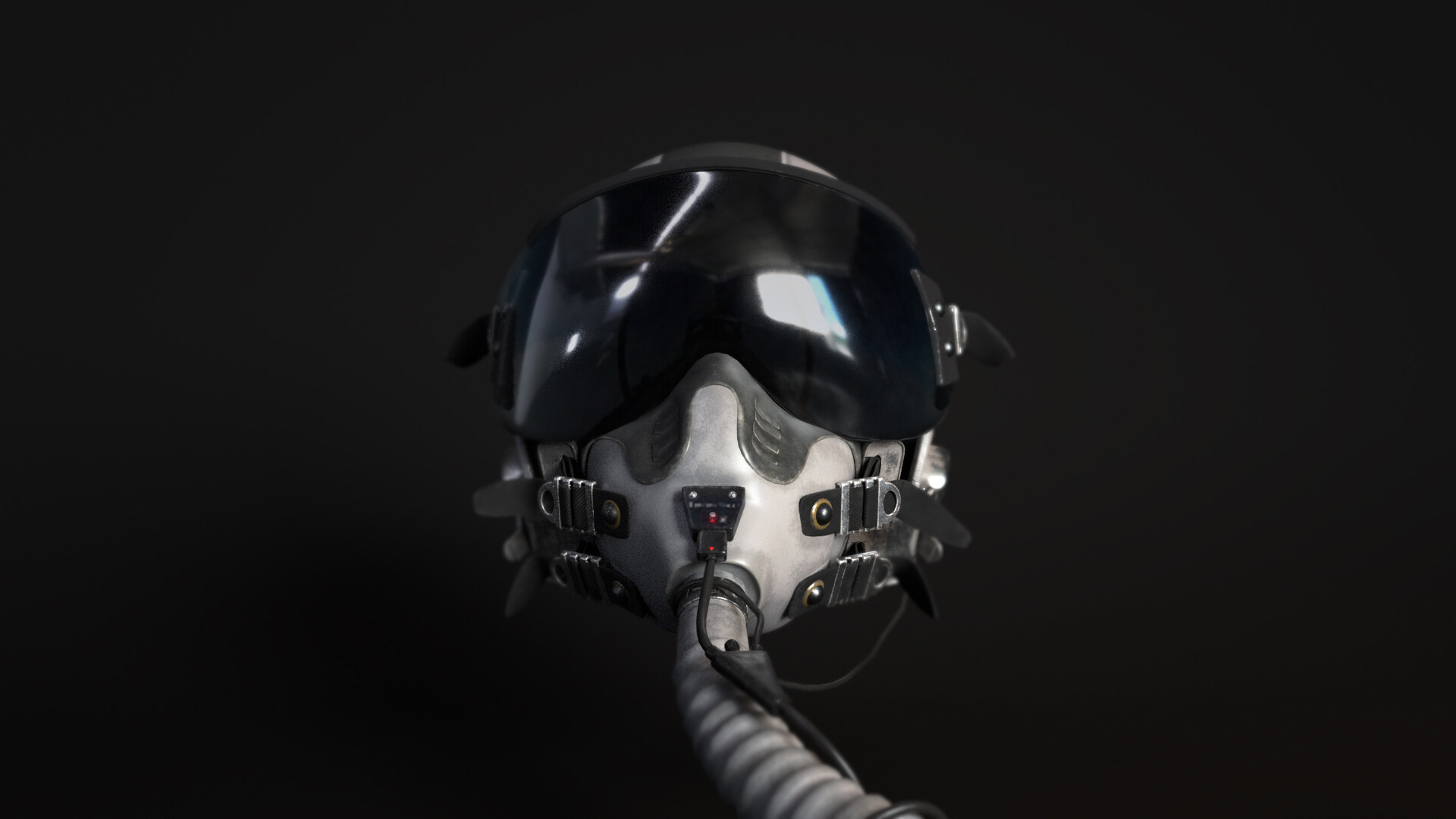 Alexander Tuma - (Pilot Helmet) Gentex HGU-55