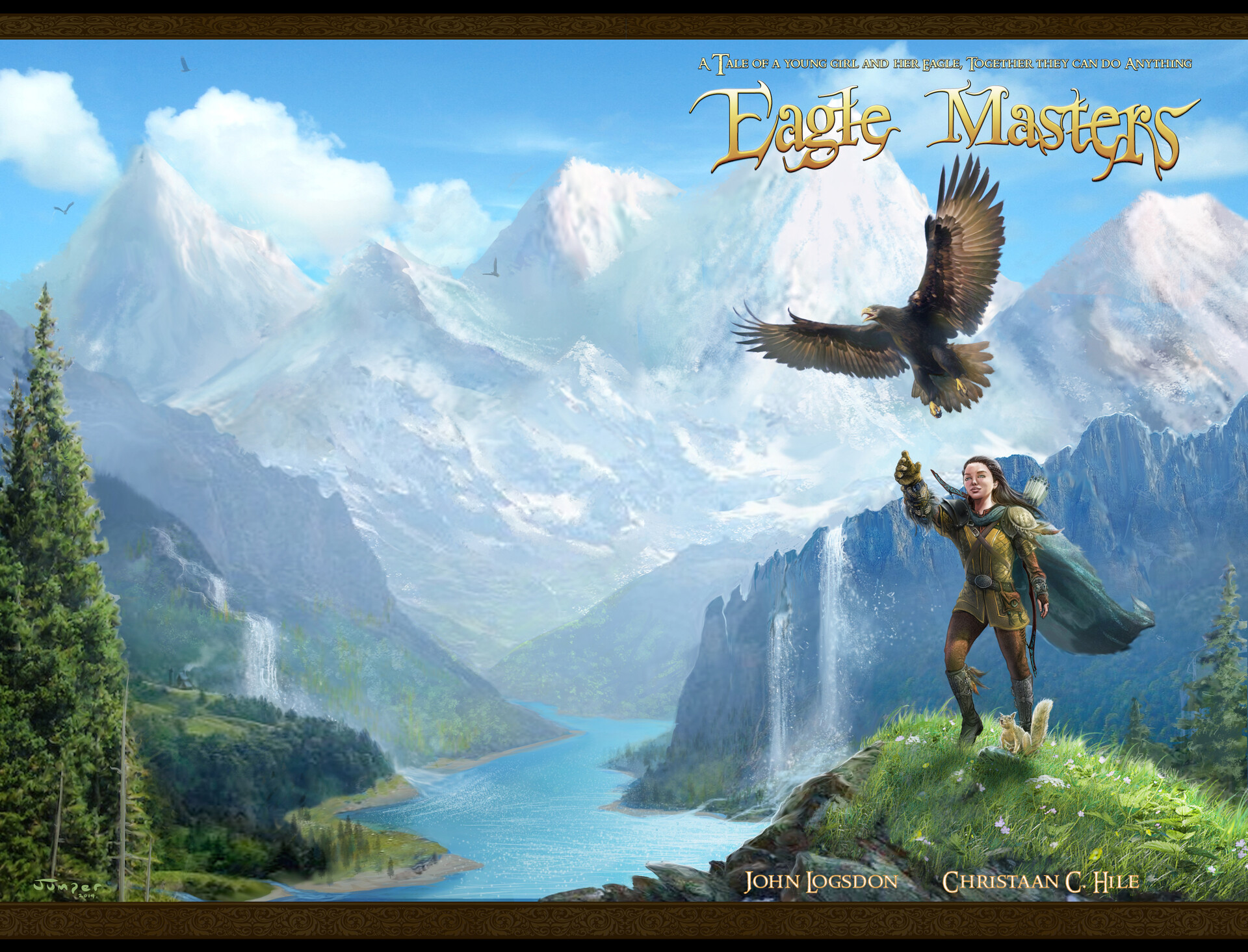 Jeff jumper eagle masters cover and logo