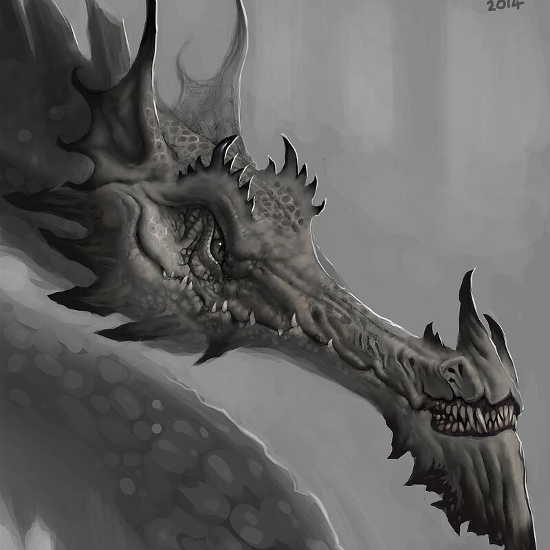 Tolkein Dragon