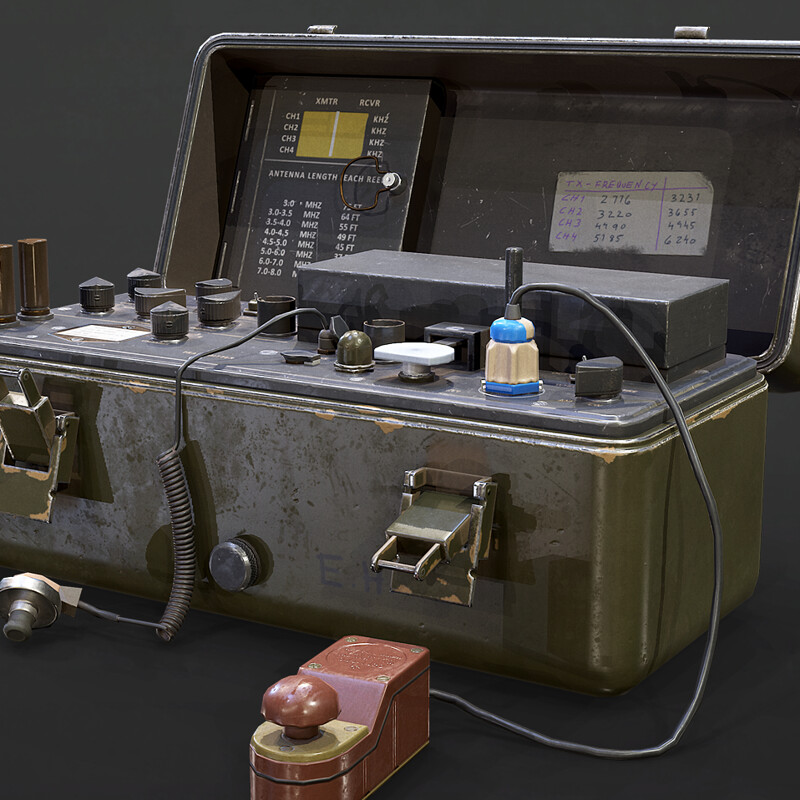PRC-64 Military Spy Radio