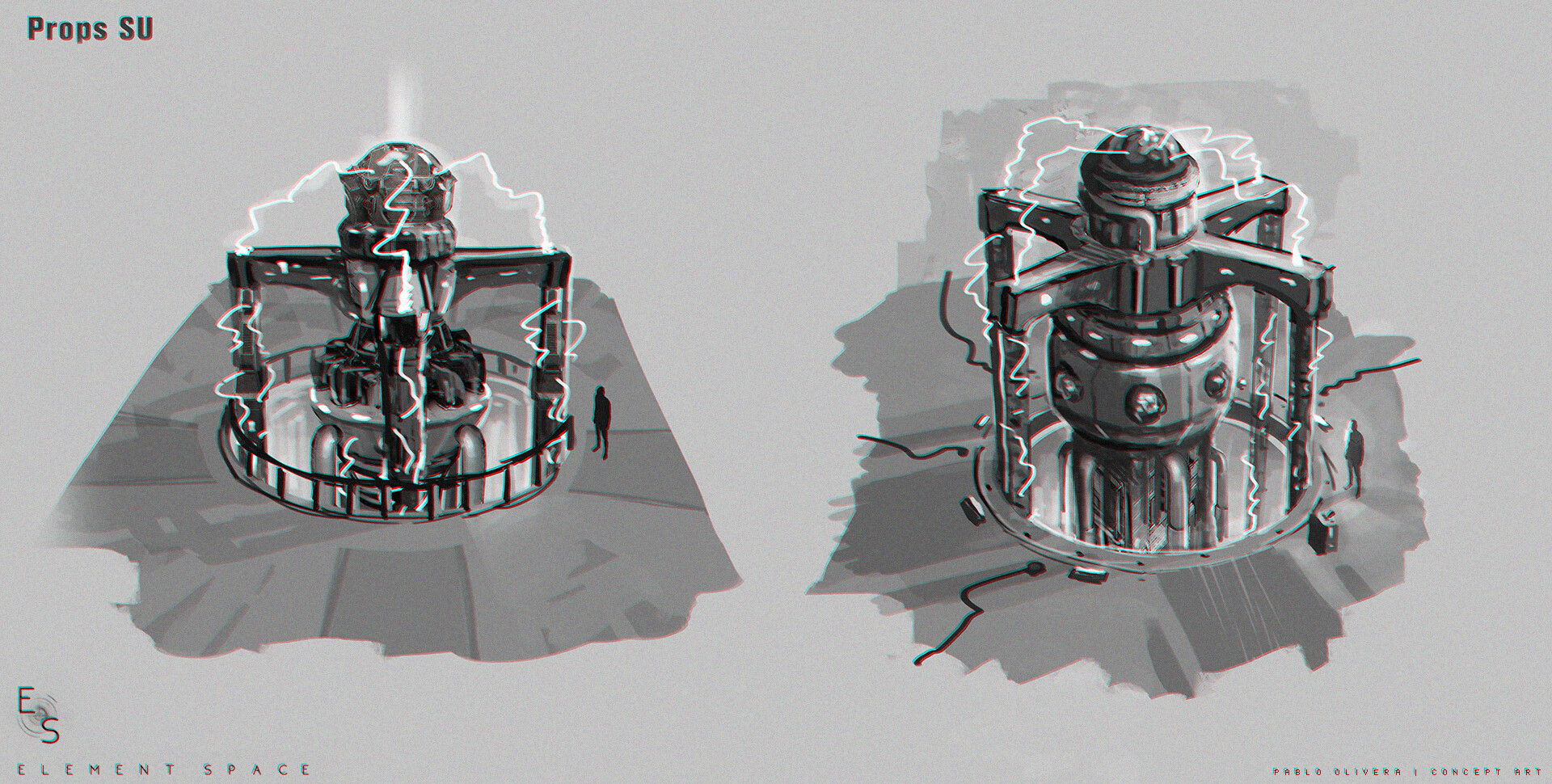Pablo olivera element space props su reactor final
