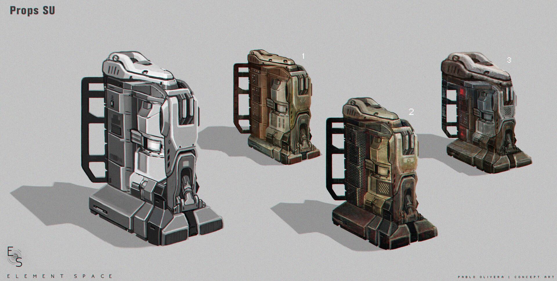 Pablo olivera element space props su machine 01