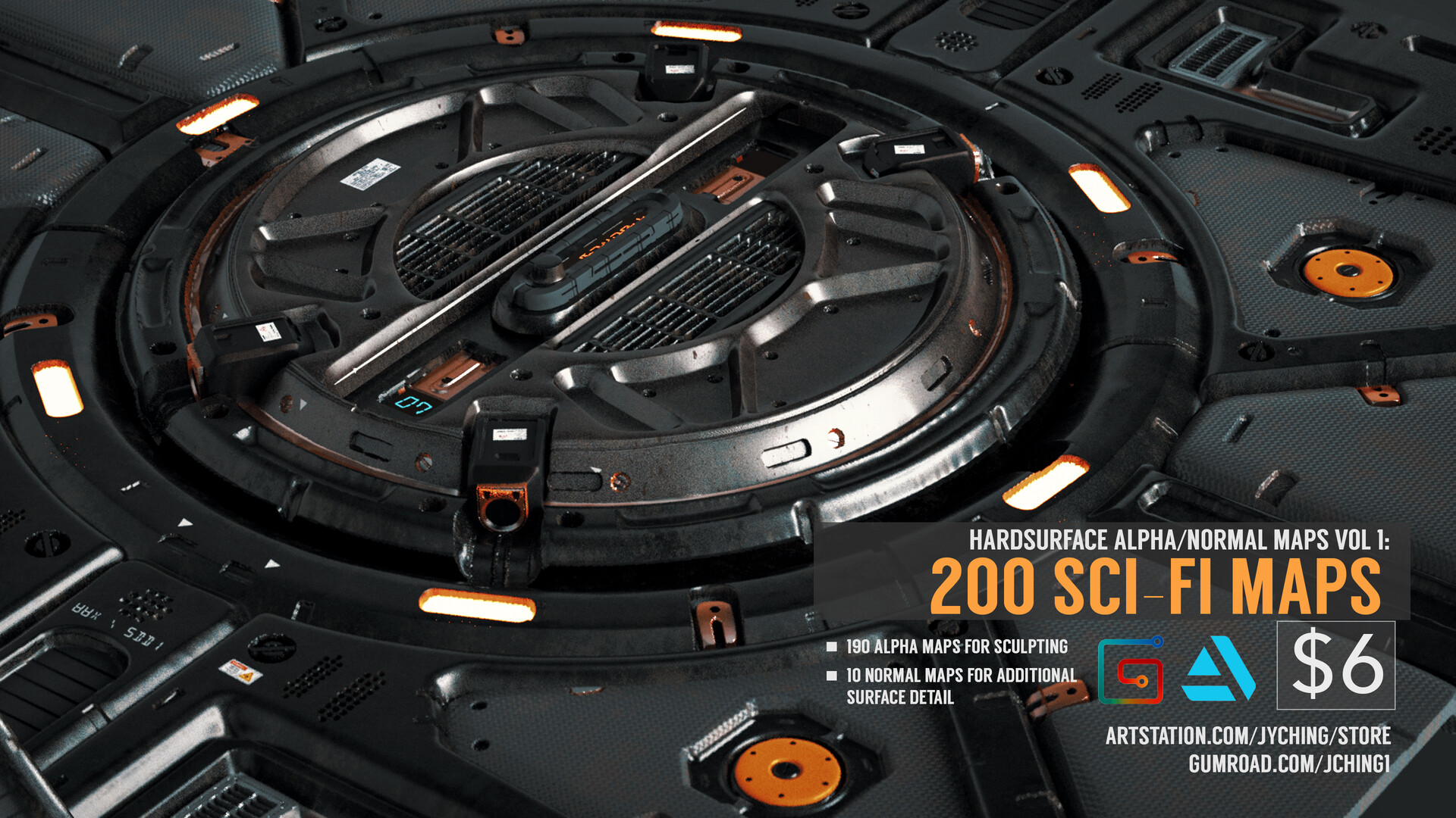 Jonathan ching sci fi surface renders c