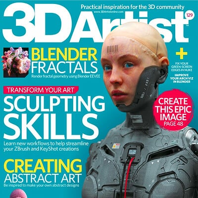 3D Artist Magazine Issue 129