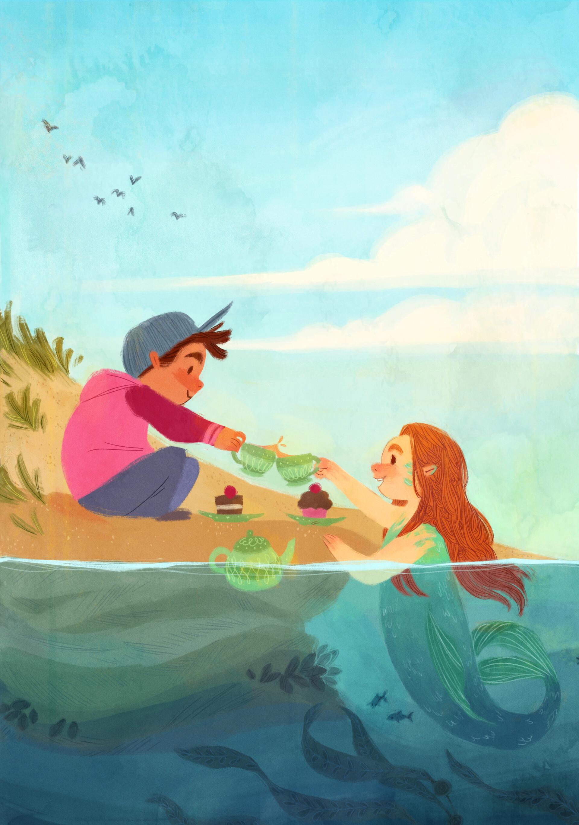 Anna daviscourt mermaid redux big