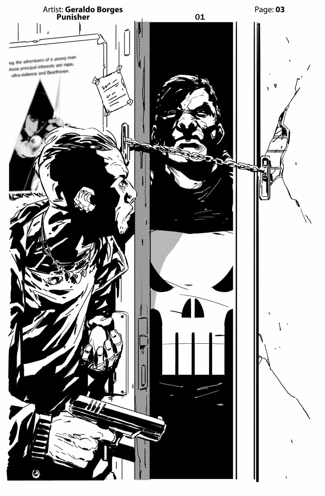 Geraldo Borges - Punisher Page 03