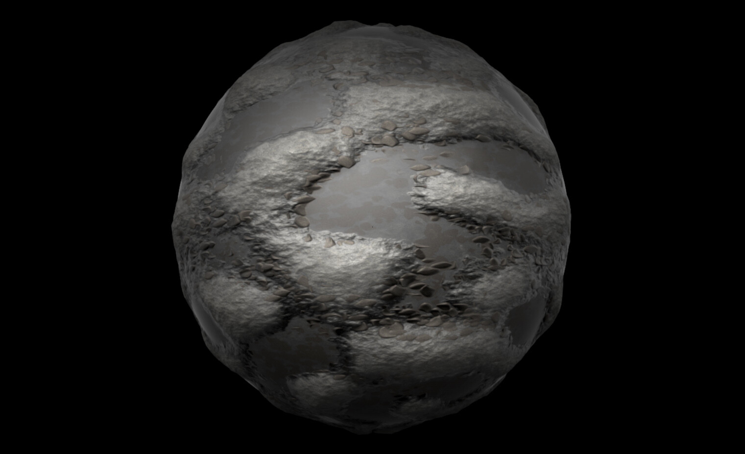 Pebbles and Water Preset (Sphere)