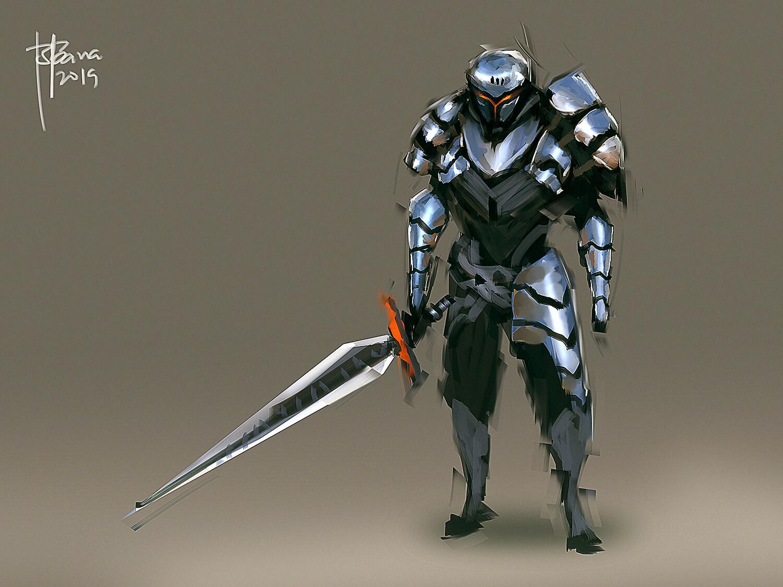 Speedpainting knight