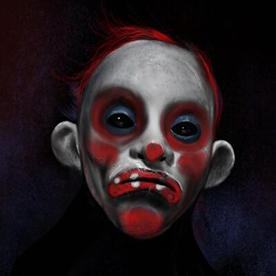Jon yousef batman clown digital study