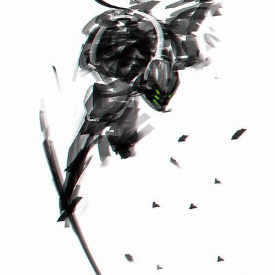 Benedick bana samurai speedpaint 01 lores