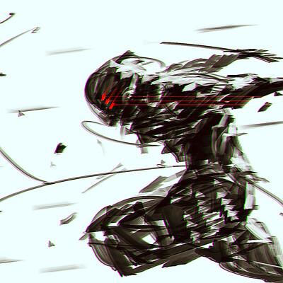 Benedick bana samurai speedpaint final