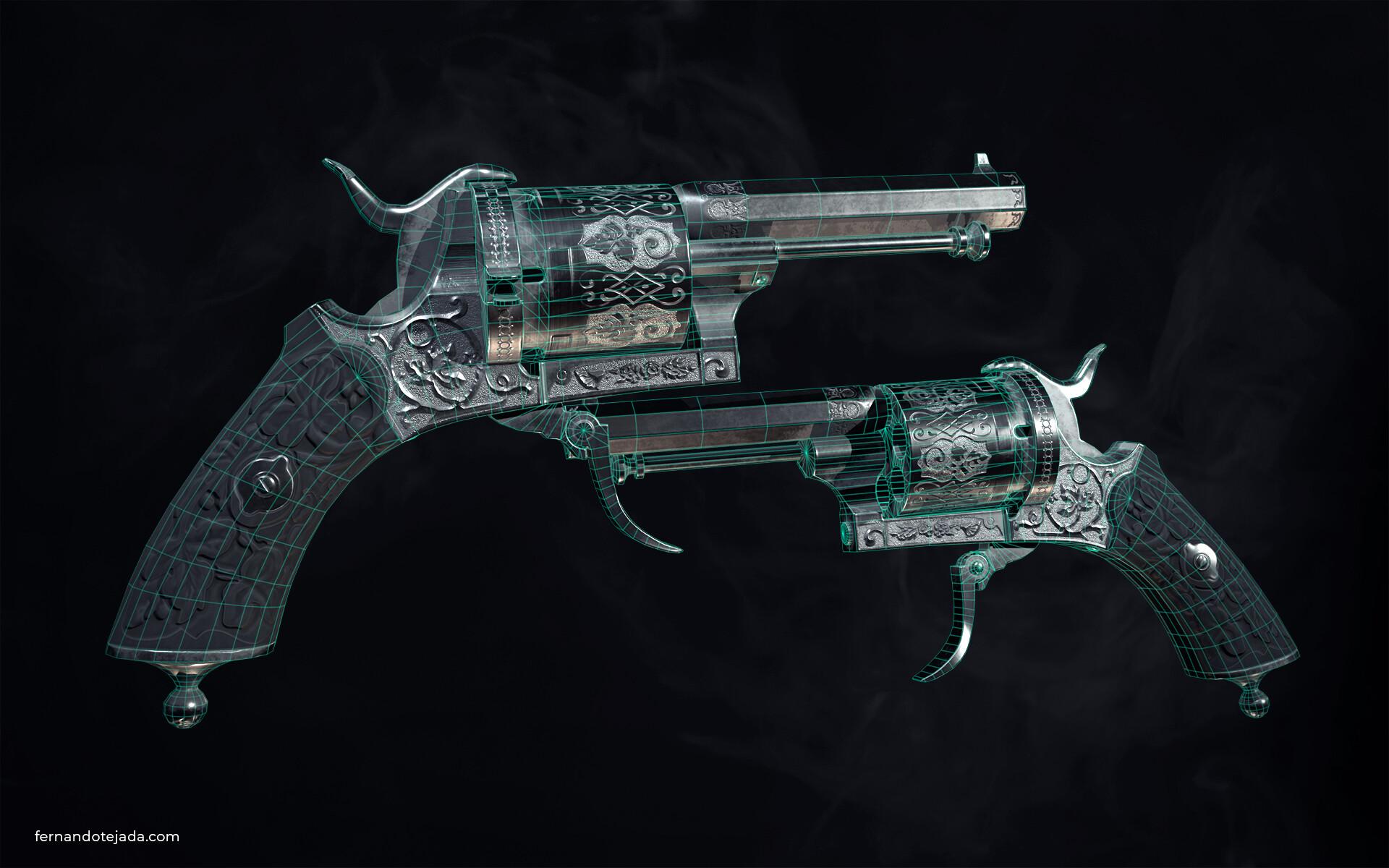 Vintage french revolver 4