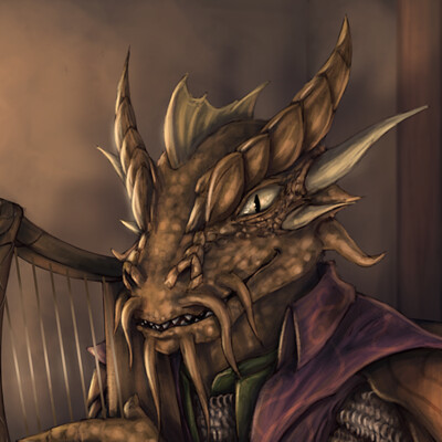 Christian hadfield astofel the dragonborn bard by christian hadfield low rez