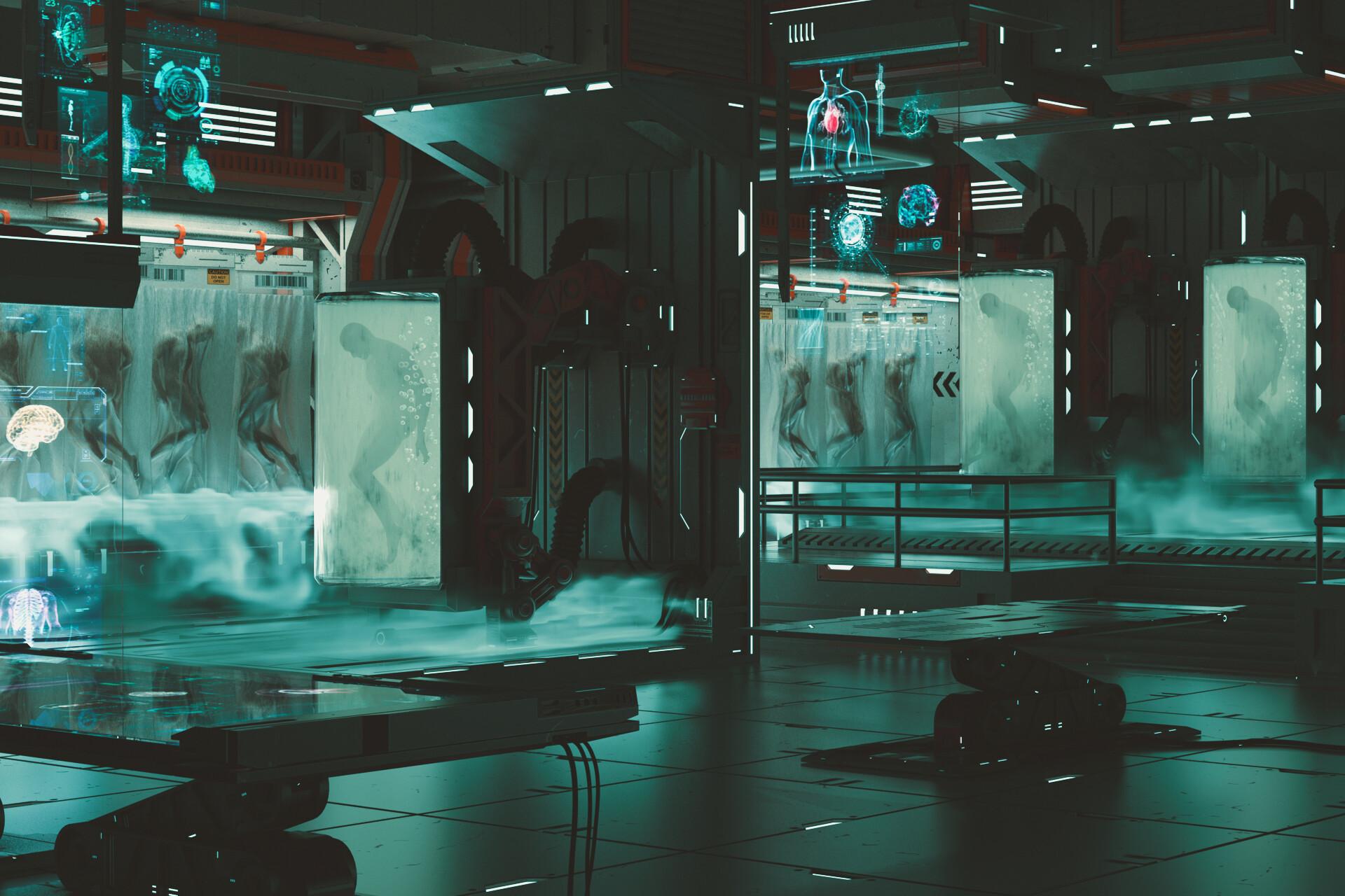 [VIP] Artstation - Creating A Si-fi Environment Bio Lab