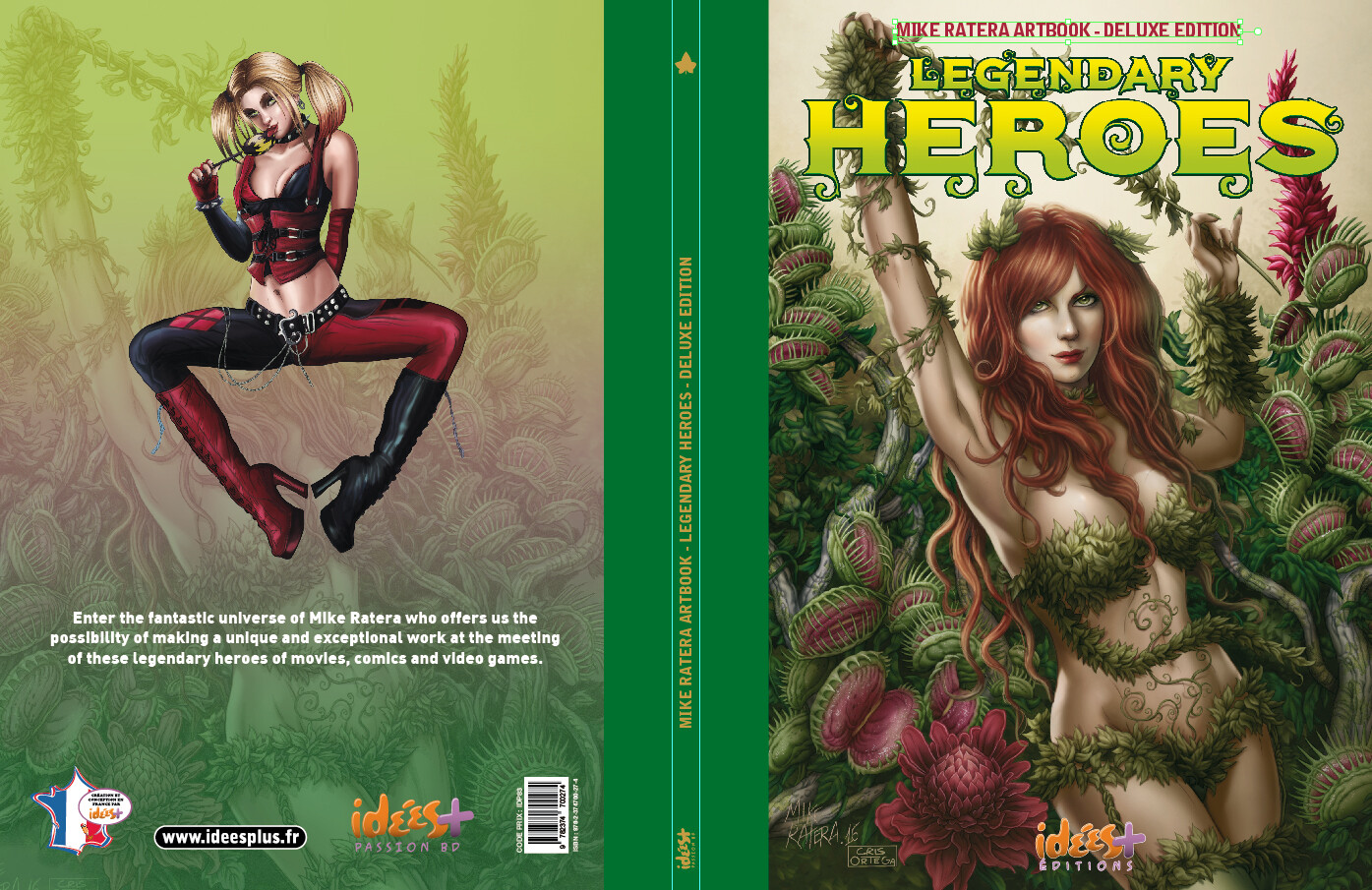 Mike ratera legendary heroes tl cover c1 c4