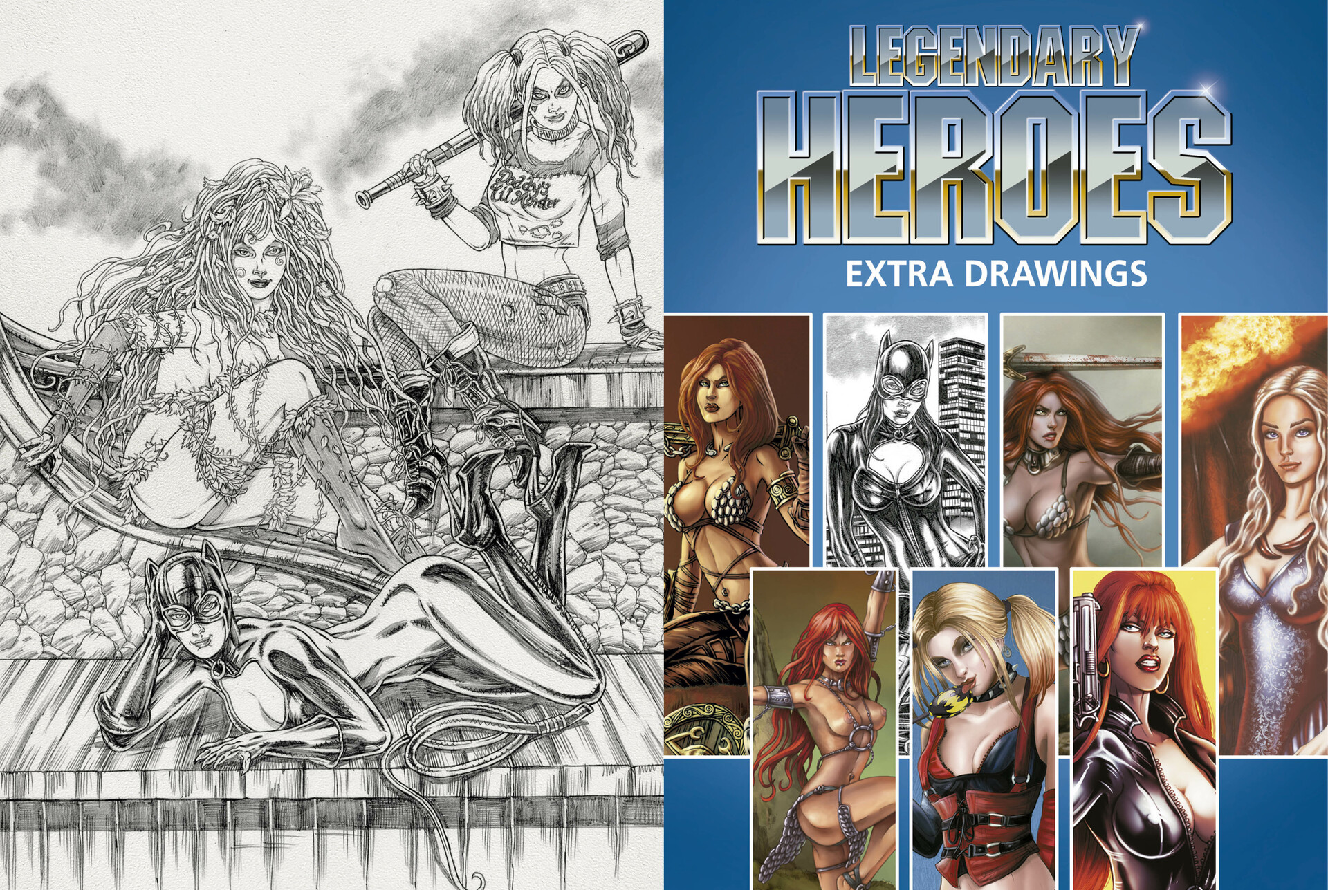 Mike ratera lh artbook p88 p89