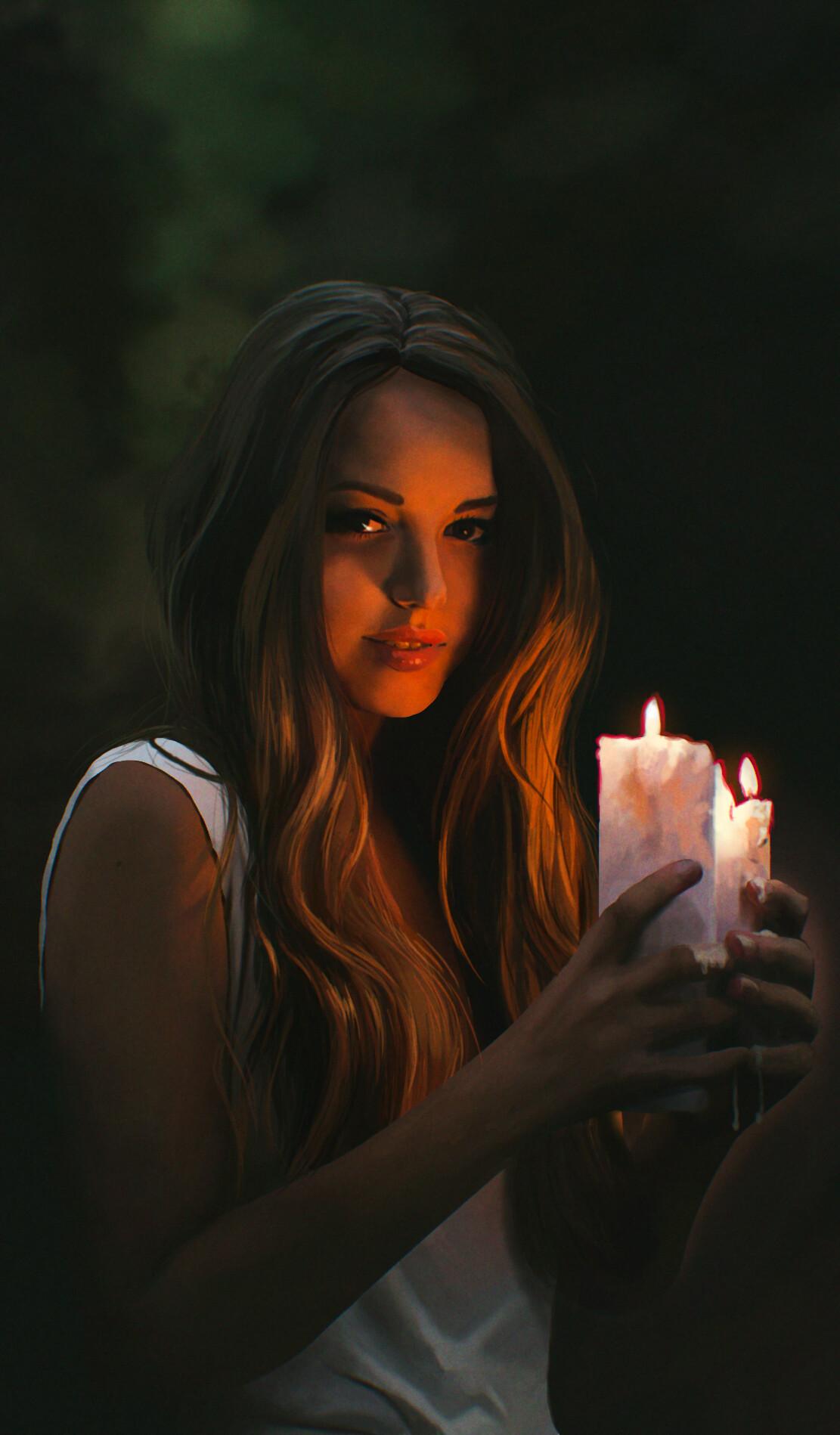 John dervishi candle no watermark