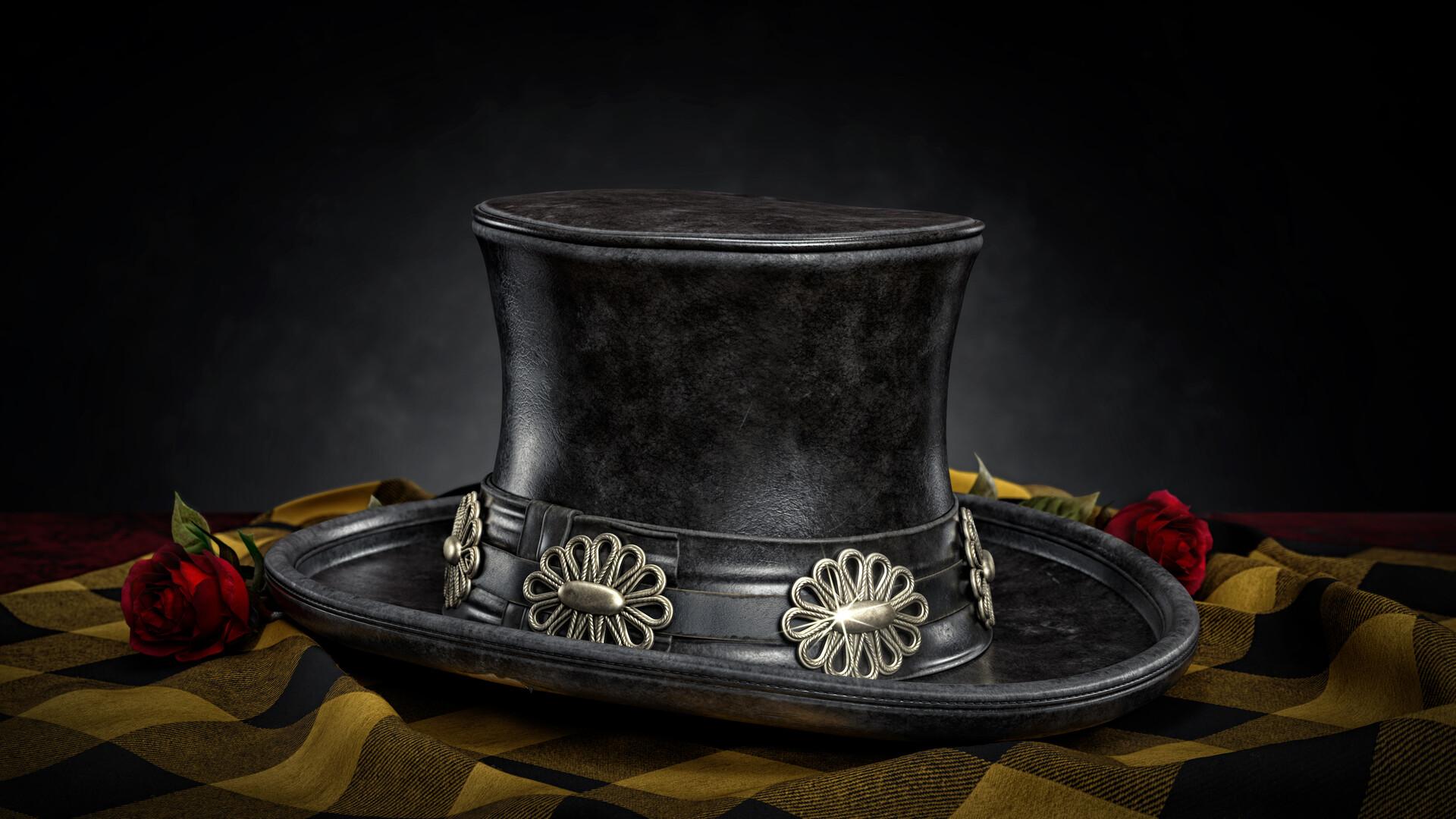 ArtStation - Slash's Top Hat, Jakub Ludwiczak