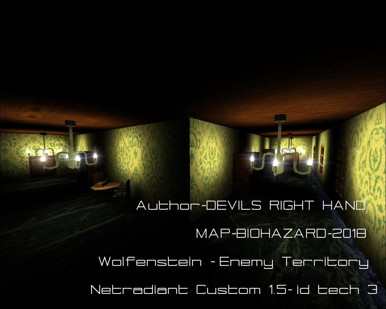 ArtStation - BIOHAZARD Custom Wolfenstein - Enemy Territory