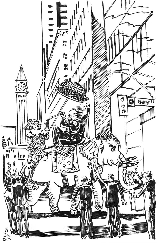 Bay street Parade.