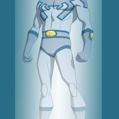 Jerome moore blue beetle holo 2