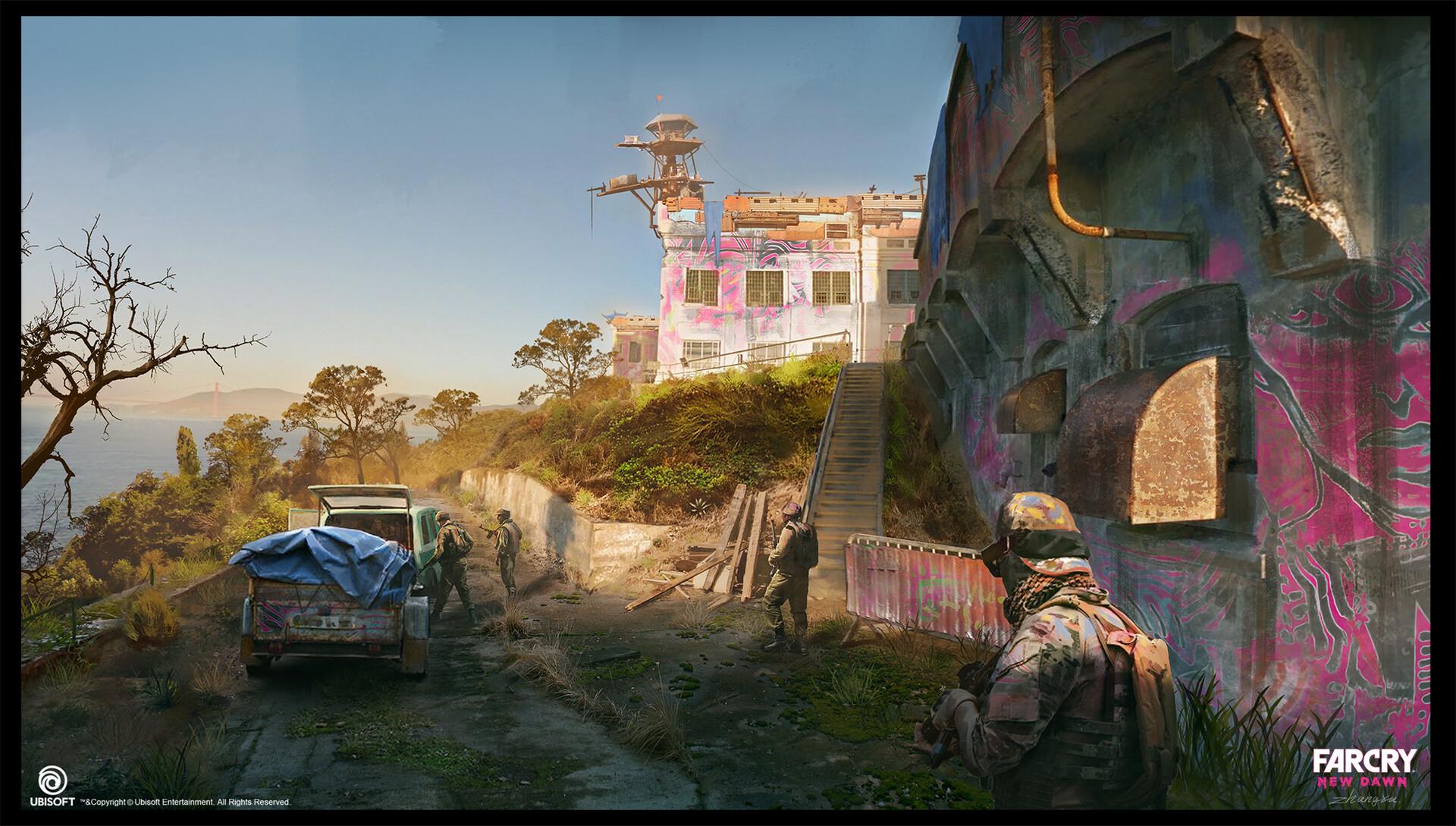 Artstation Far Cry New Dawn Concept Art Xu Zhang