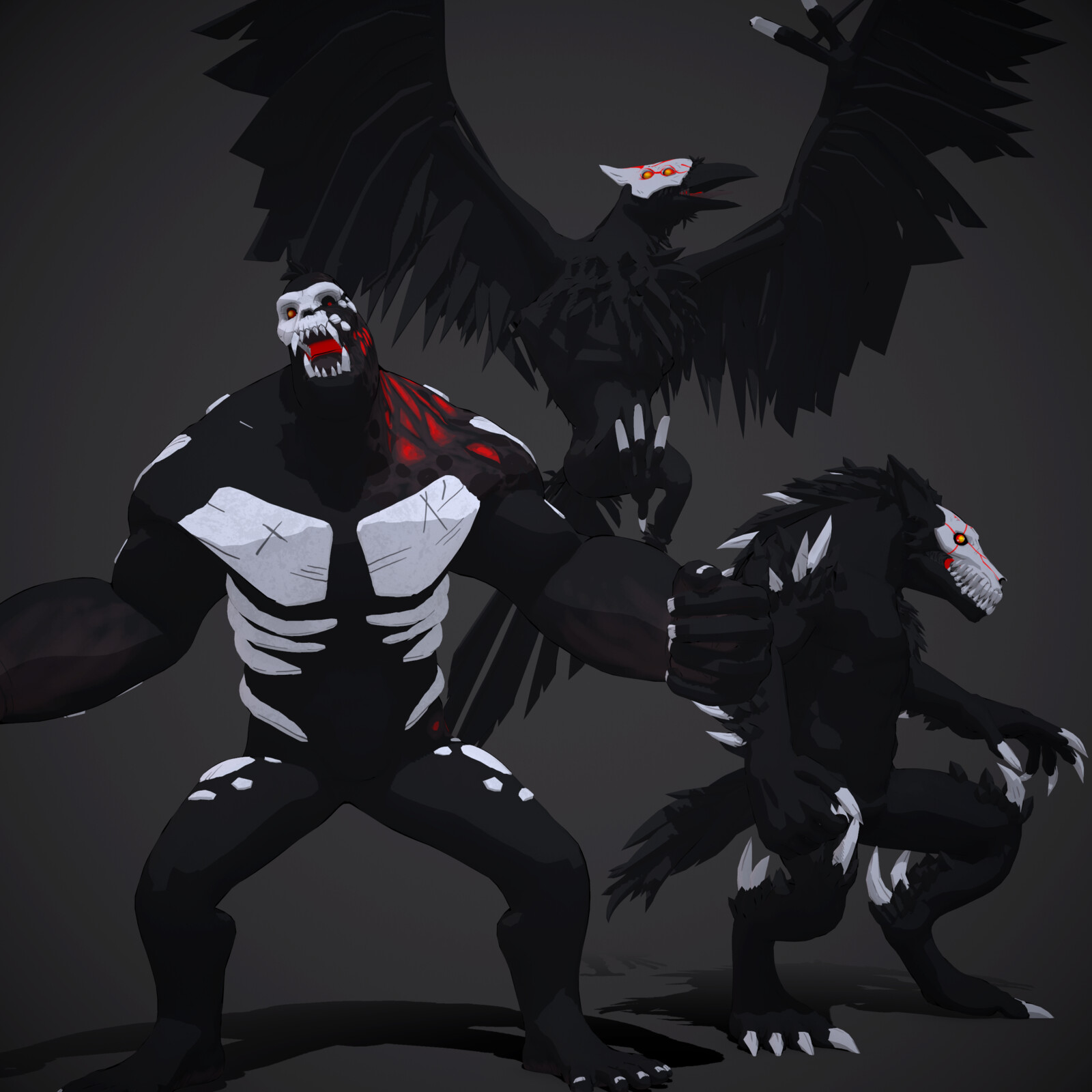 RWBY Grimm Monsters