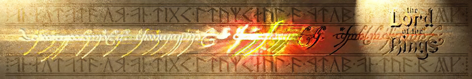 The one ring web banner