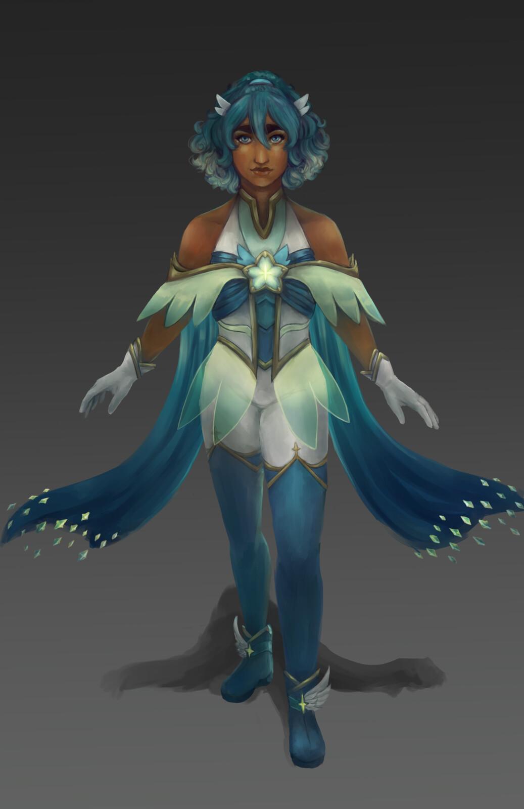 Star Guardian Taliyah Concept