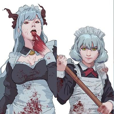 Alen rocha demon maids banner