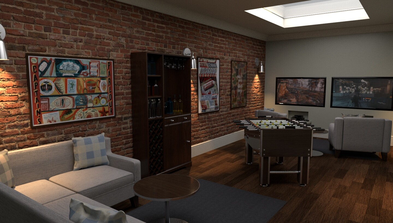 Artstation Gentleman S Lounge Triston Beadle