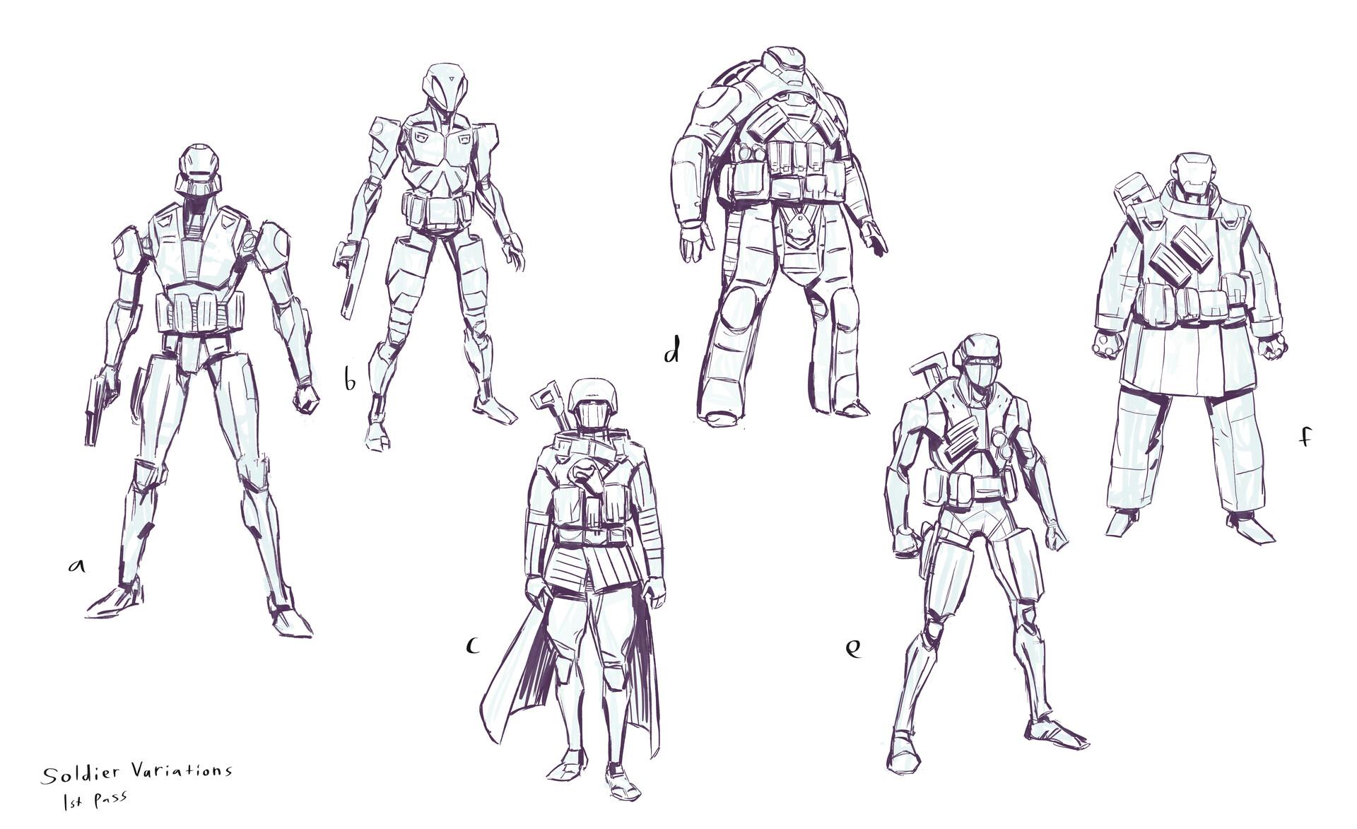 Michael bierek soldiers
