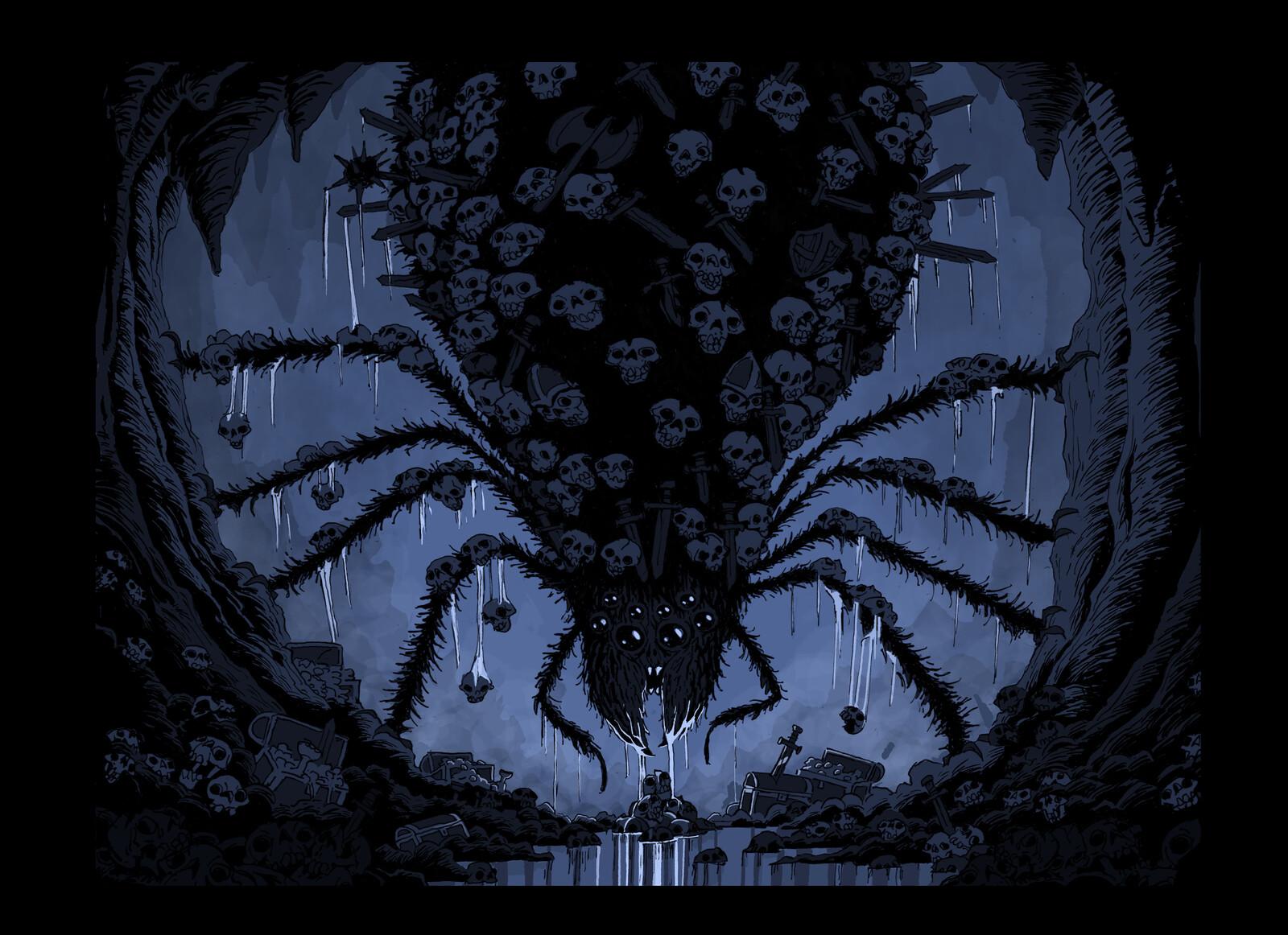 """Spooky Cave Dweller"""