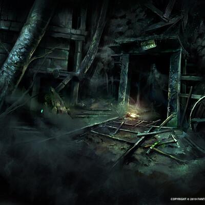 Nele diel abandoned mine