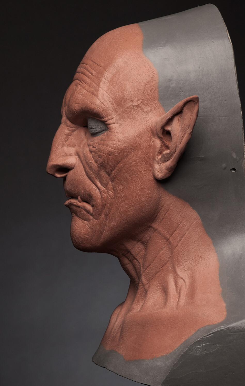 Generic Demon Prosthetic Sculpt