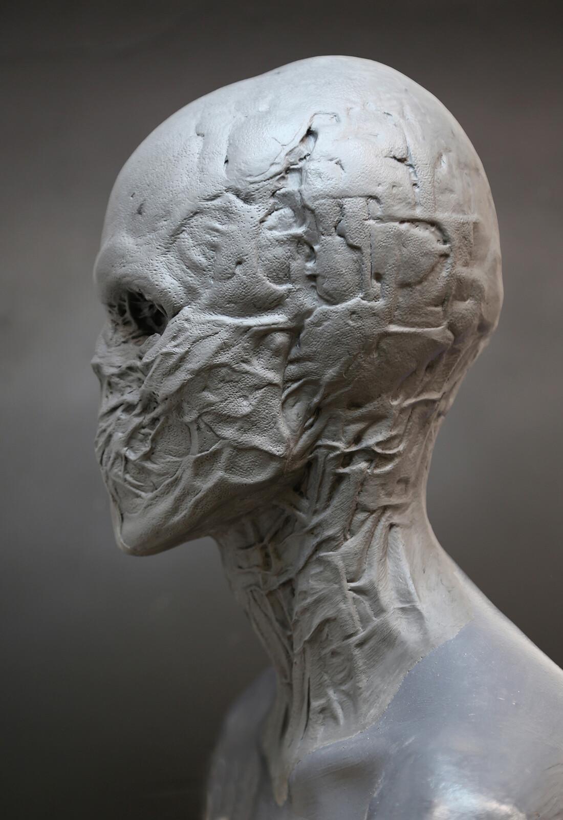Suspiria. 2016 / Figure of Death Head Prosthetic sculpt